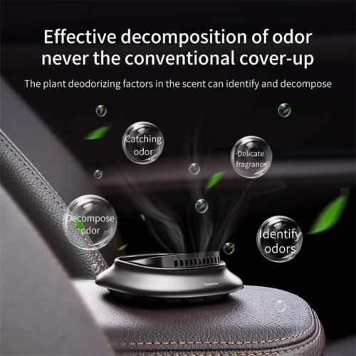 Baseus Little Volcano Car Fragrance Holder Black