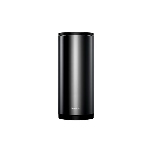 Baseus Gentleman Style Vehicle-mounted Car Trash Can with Lid Black - TechBeans Inc.