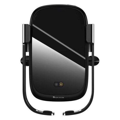 Baseus Electric Wireless charger Car Phone Holder Black
