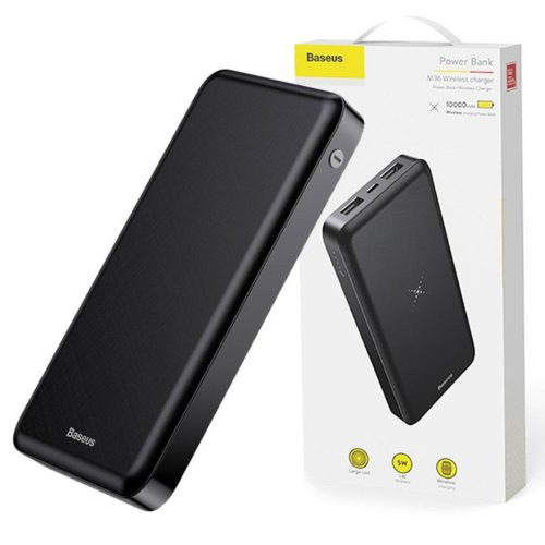 Baseus M36 Wireless Power bank Charger 10000mAh Black